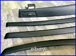 Bmw 3 Series E92 2007 Complete Interior Trim Air Vent Set In Carbon Fiber Print
