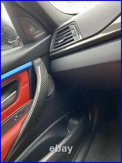 Bmw 4 Series F32 F33 F36 Carbon Fiber Interior Dash Cover Trims Rhd 420 425 430