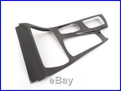 Bmw 5 Series F10 Carbonfiber Interior Trim Set 9 Pcs Fast Shipping