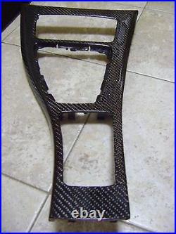 Bmw Carbon Fiber Dash Interior Trim 07 08 09 10 11 E92 E93 XI 325 328 330 335
