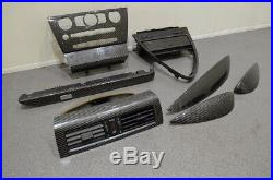 Bmw E63 M6 Coupe Carbon Fibre Interior Dash Door Centre Console Trim Panels