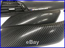 Bmw F20 F21 F22 F23 1 & 2-series Interior Trim Set 4d Carbon Fibre Se Sport #2