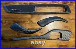 Bmw F20 F21 F22 F87 M2 M Performance Carbon Fiber Interior Trim Kit Alcantara