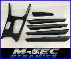 Bmw F25 X3 Interior Trim Set Glossy Black Carbon Fibre Performance Dash Door