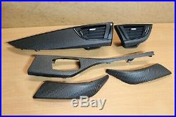 Bmw M2 F22 F23 F87 Carbon Fiber Dashboard Console Vent Door Card Interior Trim