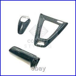 Bmw M2 M3 M4 Carbon Fibre Interior Gear Knob Surround Hand Break Cover