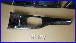 Bmw M3 M4 F80 F82 F83 F32 F30 Carbon Fiber Interior Trim Centre Console Rhd
