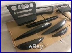 Bmw Oem E63 E64 650i M6 ///m 06-10 Set Interior Carbon Fiber Trim Molding Bezel