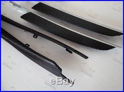 Bmw X5 E70 Black Carbon Fiber Wrapped Interior Trim Set