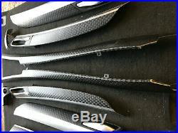 Bmw X6 E71 Carbon Fiber Interior Trim Set