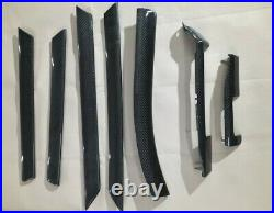Bmw e46 carbon fiber interior trim 7pcs