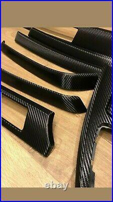 Bmw e90 /e91 interior trim wrap with carbon fibre