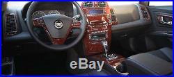 Cadillac Cts Interior Burl Wood Dash Trim Kit Set 2003 2004 2005 05 2006 06 2007