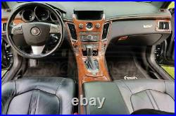 Cadillac Cts Sedan 4 Door Interior Burl Wood Dash Trim Kit Set 2008 2009 2010