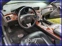 Cadillac Cts Sedan 4-door & Coupe Interior Wood Dash Trim Kit Set 2011 2012 2013
