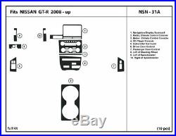 Carbon Fiber Dash Trim Kit for NISSAN GT-R 2008-2016 interior dashboard