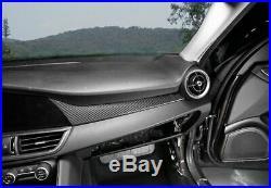 Carbon Fiber Dashboard Console Center Panel Trim Sticker for Alfa Romeo Giulia