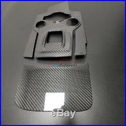 Carbon Fiber For Alfa Romeo Giulia 952 17+ Interior Trim Gear Shift Panel Cover