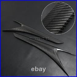 Carbon Fiber Interior Center Console Trim For LEXUS XE30 IS250 IS300F IS350 14+