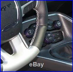 Carbon Fiber Interior Knob Kit (phg) Plum Crazy Fits 2015 2016 Dodge Charger