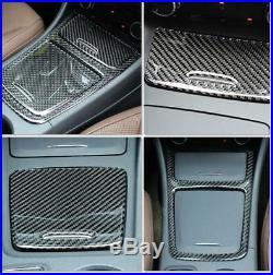 Carbon Fiber Interior Trim Cover Full Kit Cover Trim für Mercedes Benz GLA CLA