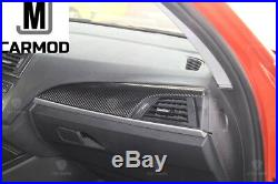 Carbon Fiber Interior Trim Set 5 PCs Fit For BMW F22 F23 F87 218 220 228 230 M2