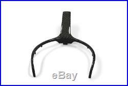 Carbon Fiber Steering Wheel Trim BMW 1 2 3 4 F Series F22 F30 F32 F33 F20 F36