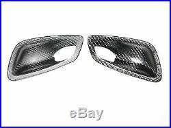 Carbon Fiber inner door handle cover trim fit for BMW E90 E91 E92 E93 M3