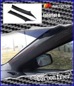 Carbon Fibre Interior Front A Pillar Covers for Mitsubishi Evolution X EVO 10