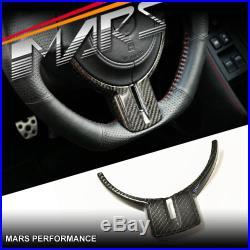 Carbon Fibre Interior Trim Steering Wheel Cover for Toyota 86 & Subaru BRZ