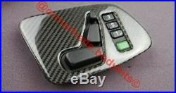 Carbon Front Interior Door Trim Buttons Covers Panels for Mercedes G-class W463