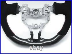 Carbon Steering Wheel for 12-16 Scion FR-S Subaru BRZ Suede Alcantara