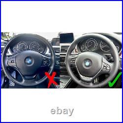 Carbon Suede Red Steering Wheel For BMW F30 F31 F34 F35 F20 F21 F22 F23 F32 F33