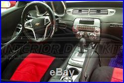 Chevrolet Camaro Ls Lt Ss Interior Silver Aluminum Dash Trim Kit Set 2010 2011