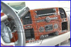 Chevrolet Chevy Silverado Lt Ls Interior Wood Dash Trim Kit 2010 2011 2012 2013