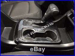 Chevrolet Colorado 2015+ Interior Trim Center Console 100% Carbon Fiber Gloss