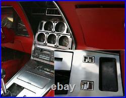 Chevrolet Corvette C3 Interior Aluminum Silver Dash Trim Kit 1977 1978 1979 1980