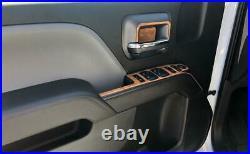 Chevrolet Silverado Ls Lt Z71 Interior Wood Dash Trim 2014 2015 2016 2017 2018