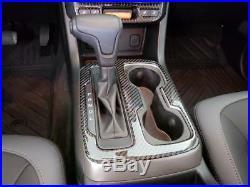 Chevy Colorado Interior Real Carbon Fiber Dash Trim Kit 2015 2016 2017 2018 2019