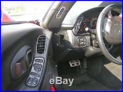 Chevy Corvette C5 C-5 Interior Real Carbon Fiber Dash Trim Kit Set 2001 02 03 04
