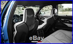 DarwinPRO BMW F80 M3 F82 M4 F83 Carbon Fiber Interior Seat Cover Replacements