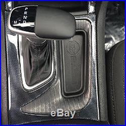 Dodge Challenger Sxt R/t Rt Interior Carbon Fiber Dash Trim Kit Set 2015 2016