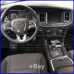 Dodge Charger Interior Carbon Fiber Dash Trim Kit Set 2015 2016 2017 2018 2019