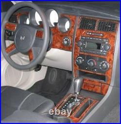 Dodge Charger Magnum Se R/t Sxt Interior Wood Dash Trim Kit Set 2005 2006 2007