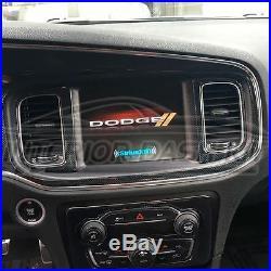 Dodge Charger Sxt Se R/t Interior Carbon Fiber Dash Trim Kit 2011 2012 2013 2014