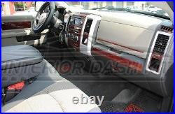Dodge Ram 1500 2500 3500 Sle Slt Interior Wood Dash Trim Kit 2009 2010 2011 2012