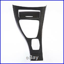 Dry Carbon Fiber Gearshift Console Cover Set for BMW E90 E91 E92 E93