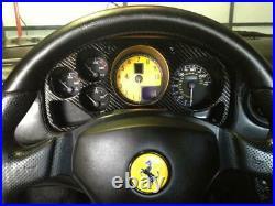 Ferrari 360 OEM Carbon Fiber Dash Cluster Surround