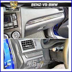 Fits 15 18 18 Subaru WRX STI Front Glove Compartment Box Trim Cover CF