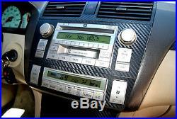 Fits Cadillac CTS 03-07 Carbon Fiber Dash Kit Interior Dashboard Parts Lope